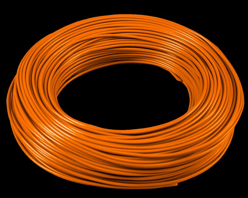 Cavo Unipolare H07V-K 1x1,5 Arancione