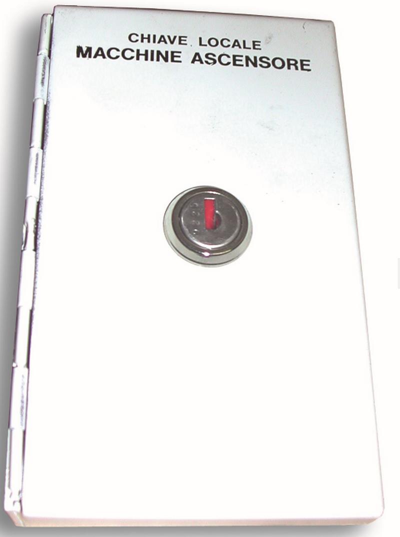 Cassetta Portachiavi cieca. Serratura con 2 chiavi cifrate 9225
