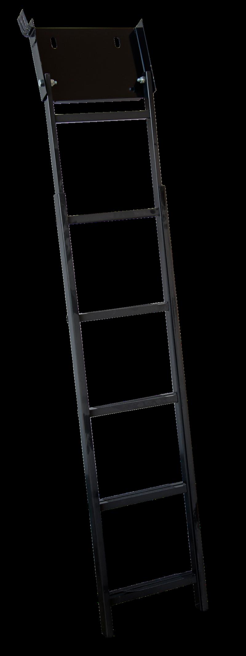 Scaletta fondo fossa in ferro 4 gradini antiscivolo