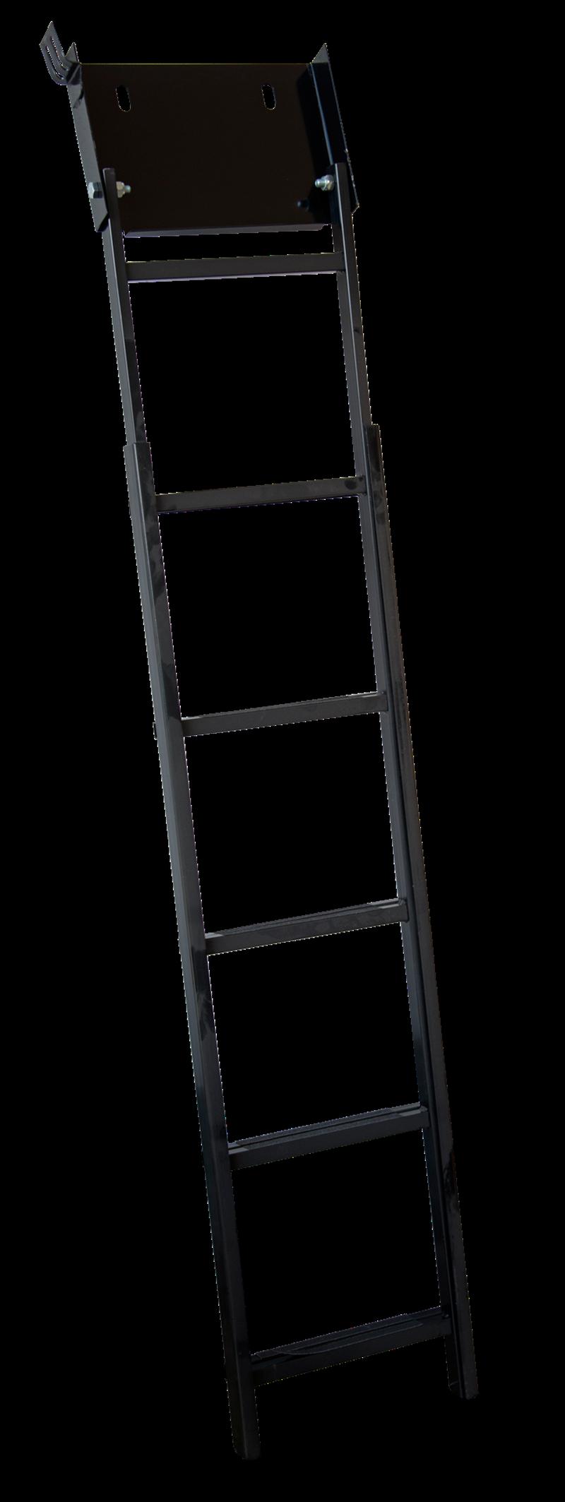 Scaletta fondo fossa in ferro 10 gradini telescopica antiscivolo