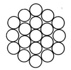 Spiroidale Ø 6 1X19 fili (Bordiglione)