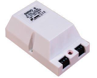 Alimentatore 12V 1,3 Ah Ni/Cd + Luce emergenza