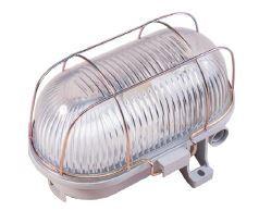 Plafoniera tartaruga illuminazione vano con gabbia metallo